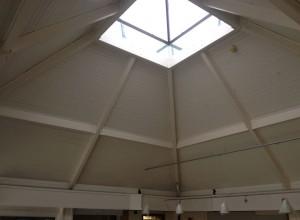 Re-painted skylight